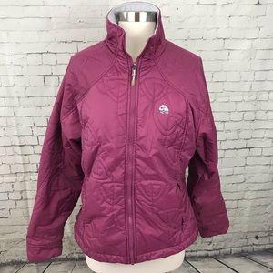Nike ACG purple thermal Full Zip Jacket